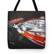Mclaren F1 Alonso Tote Bag