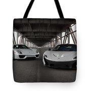 #mclaren #p1 And #porsche #918spyder #print Tote Bag