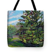 Mcmichael Spruce Tote Bag
