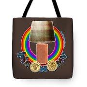 Mconomy Rainbow Brick Lamp Tote Bag