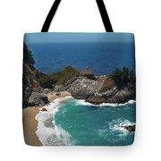 Mcway Falls In Big Sur Tote Bag