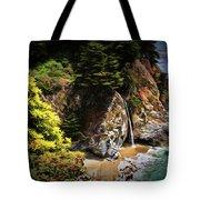 Mcway Falls Painting Tote Bag