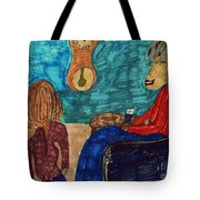 Me And My Granddaughter Tote Bag