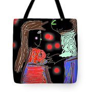 Me And You By Kathy Barney Tote Bag