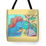 Me-bird In Paradise Tote Bag