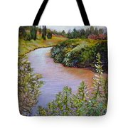 Meadow And Marsh Tote Bag