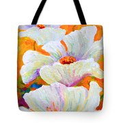 Meadow Angels - White Poppies Tote Bag