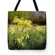 Meadow Cowslip Tote Bag