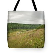 Meadow Green Tote Bag