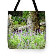 Meadow Lupine Tote Bag