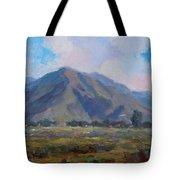 Meadow Of The Mountain Tote Bag