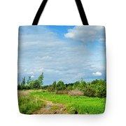 Meadow Road Tote Bag