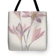 Meadow Saffron Tote Bag