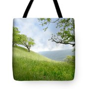 Meadow View Spring Tote Bag