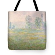 Meadows In Giverny Tote Bag