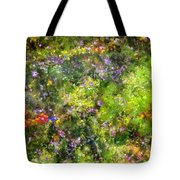 Meadowstars In Manx Tote Bag