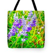 Mealy Blue Sage Tote Bag