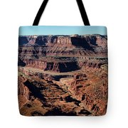 Meander Overlook - Dead Horse Point - Panorama Tote Bag