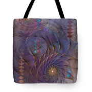 Meandering Acquiescence Tote Bag