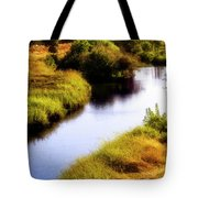 Meandering Channel Tote Bag