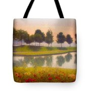 Measured Reflections Tote Bag