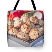 Meat Balls Tote Bag