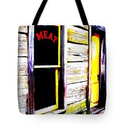 Meat Market Tote Bag