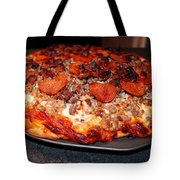 Meat Monster Pizza II Tote Bag