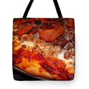 Meat Monster Pizza Tote Bag