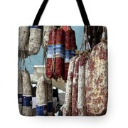Meats And Sausages  Tote Bag