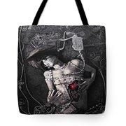 Mechanical Girl Tote Bag