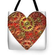 Mechanical Heart Tote Bag