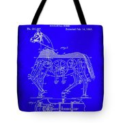 Mechanical Horse Patent Art 1b           Tote Bag