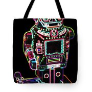 Mechanical Mighty Sparking Robot Tote Bag