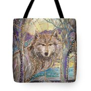 Medeina, Power And Strength Of The Forest Tote Bag