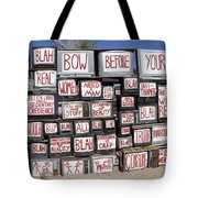 Media Instructions Tote Bag