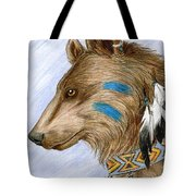 Medicine Bear Tote Bag