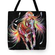 Medicine Fire Pony Tote Bag