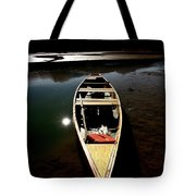Medicine Lake In Jasper National Park Tote Bag
