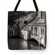 Medieval Architecture Of Bruges Tote Bag