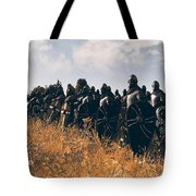 Medieval Army In Battle - 04 Tote Bag