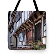 Medieval British Architecture - Dick Turpin's Cottage Thaxted Tote Bag