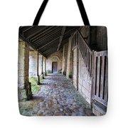 Medieval Church Entrance Tote Bag
