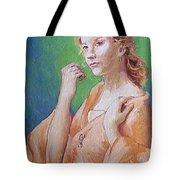 Medieval Lady Tote Bag