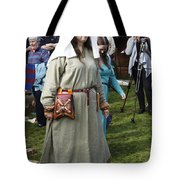 Medieval Maiden  Tote Bag