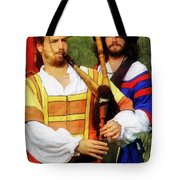 Medieval Minstrels Tote Bag