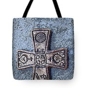 Medieval Nordic Cross Tote Bag