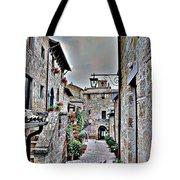 Medieval Street Tote Bag