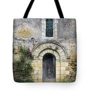 Medieval Window And Door Tote Bag