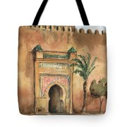 Medina Morocco,  Tote Bag by Juan Bosco